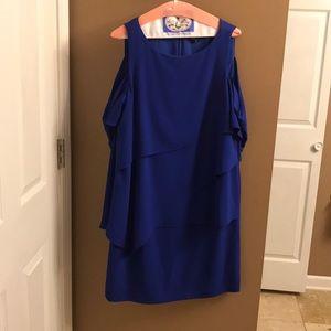 Tahari Blue Dress